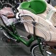 最近、街でよく見掛けるようになった子供乗せ自転車、一昔前は非常にめずらしいものでした。 いまでは多数のメーカーが製作しています。値段、グレードも多種多様。 その中で、先日、とても細かい心配りに感心したものをご紹介させて頂 […]