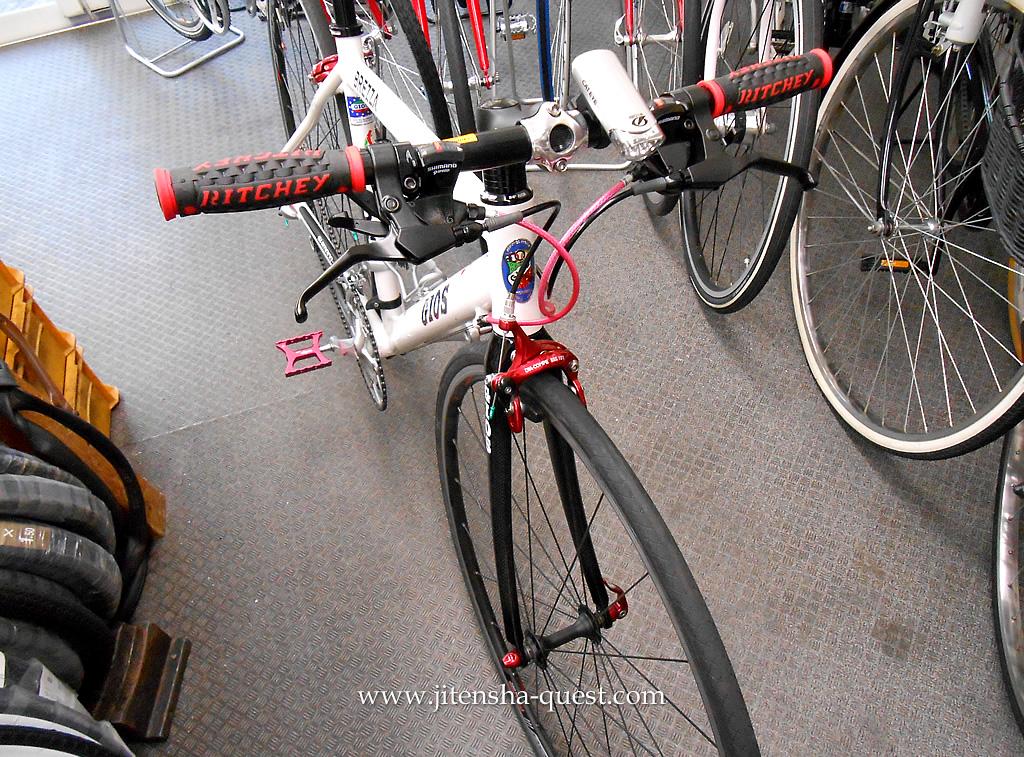 自転車の 自転車 グリップシフト ワイヤー交換 : ... グリップと、シフトワイヤーに